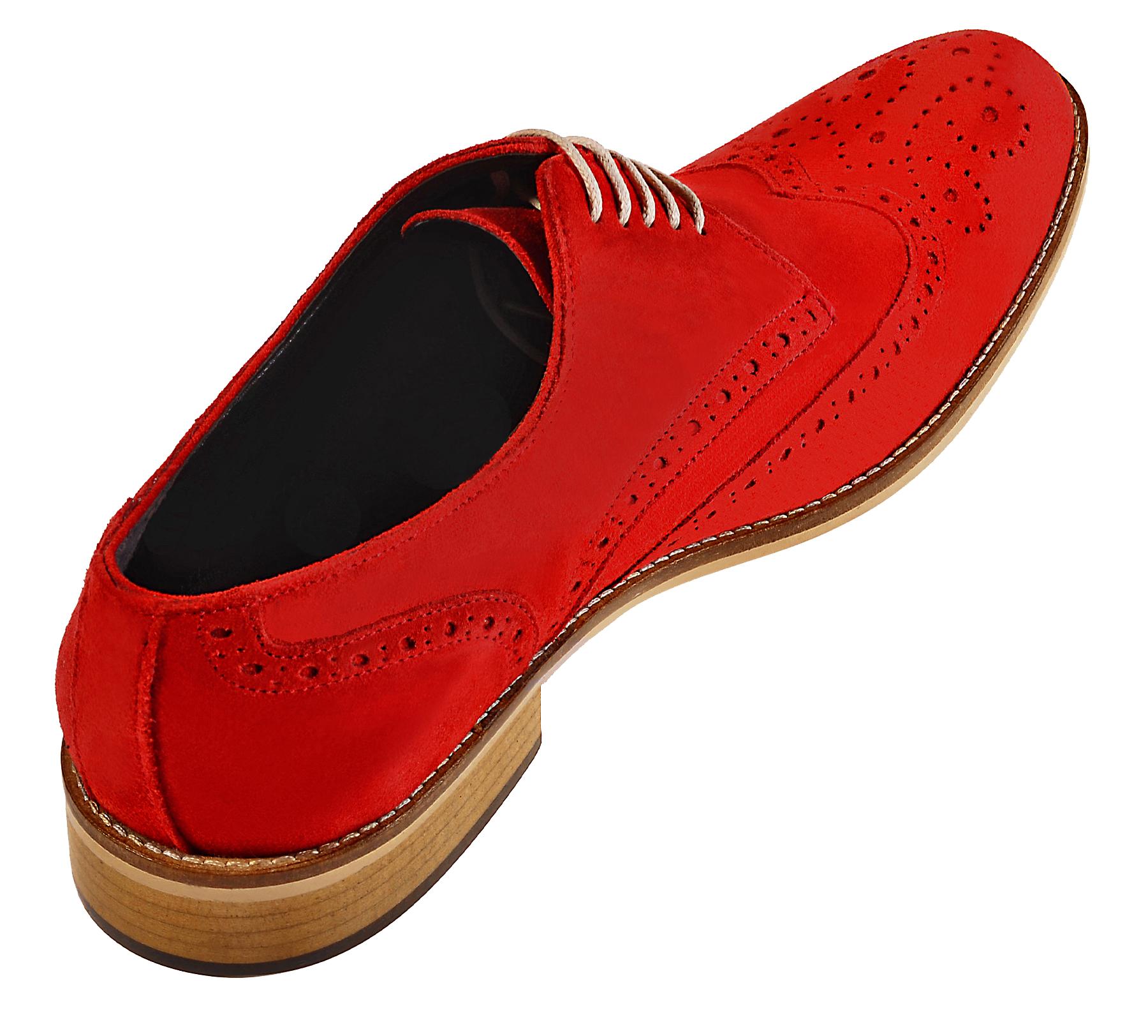 Handmade Derby Brogue Shoes