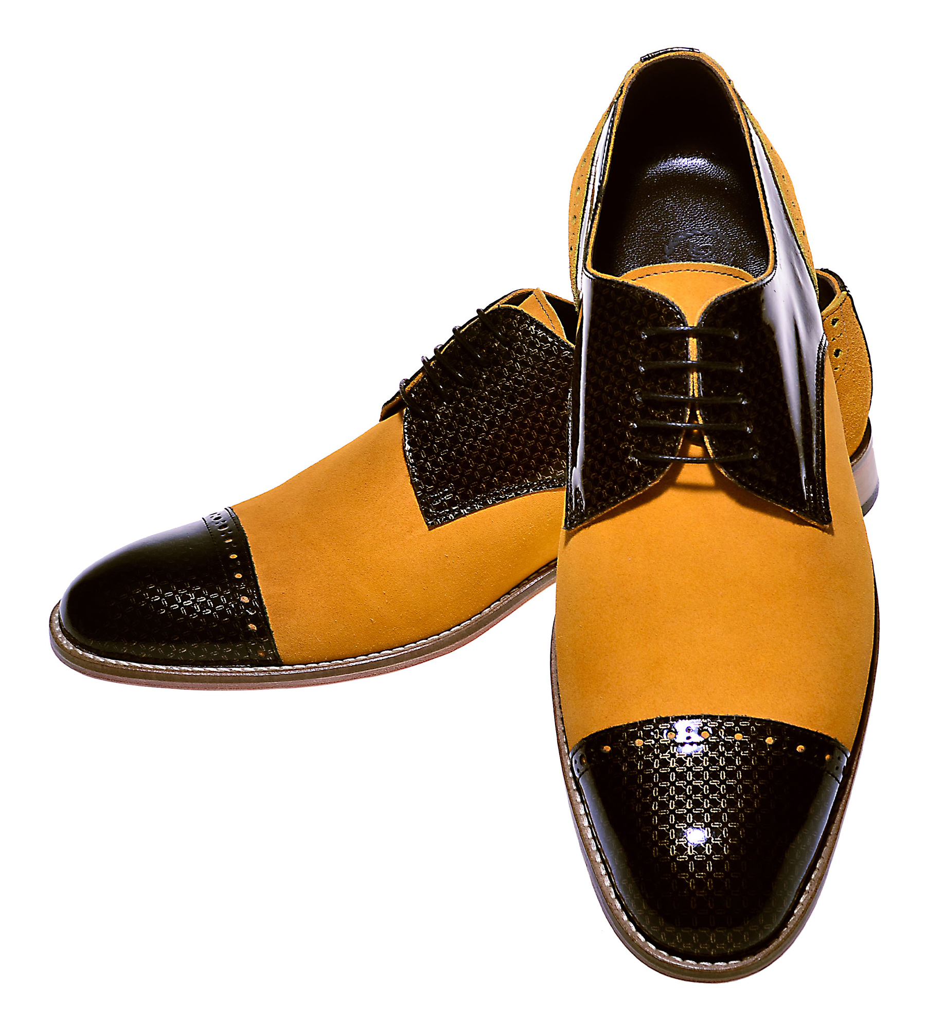 Handmade Derby Suede Shoes