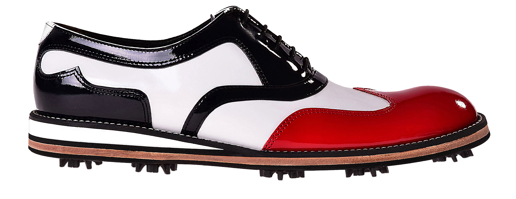 Handmade Oxford Golf Shoes