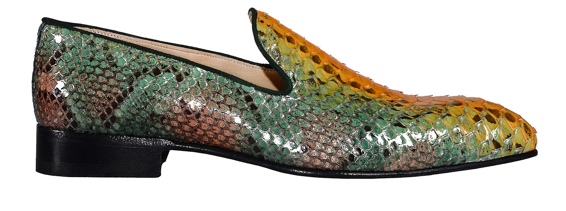 Handmade Python Loafers 203-7342c